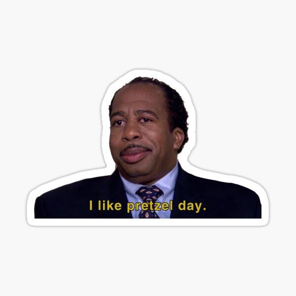 I Like Pretzel Day - Stanley Sticker