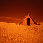 Infra Red Seaweed Hut by Mark Haynes Photography