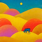 Cow in the Hills by Manter Bolen