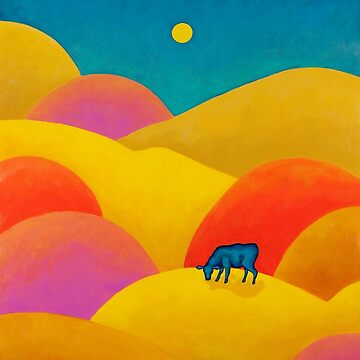 Cow in the Hills by Manter-Bolen