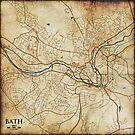 Ye olde mappe of Bath by sprkwd