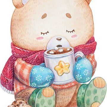 Cozy Bear by krayis