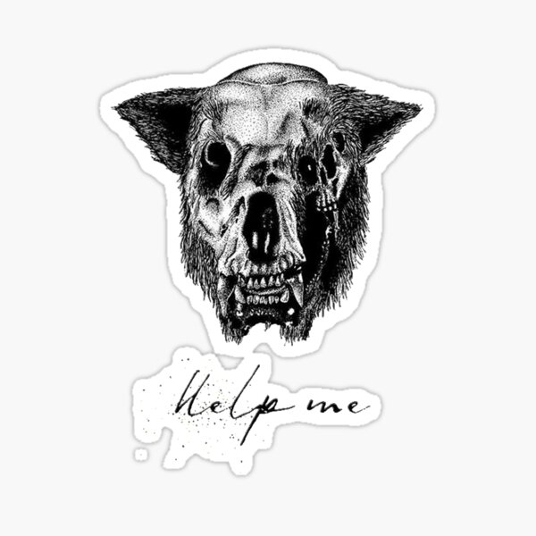 Help Me  Sticker