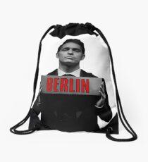 Berlin - Casa de Papel Drawstring Bag