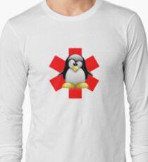 LINUX TUX PENGUIN HOSPITAL Long Sleeve T-Shirt
