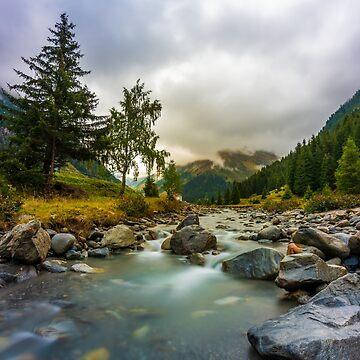 Pitztal, Austria by PeterCseke