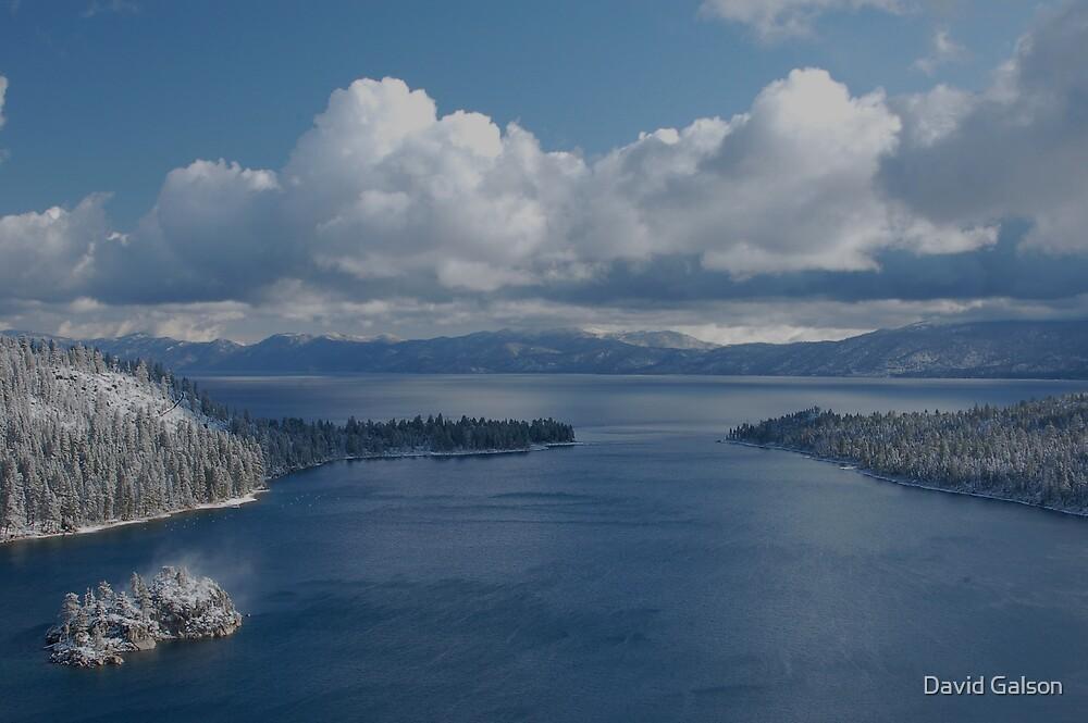 Emereld Bay, Lake Tahoe, CA by David Galson