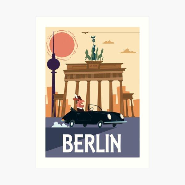 Berlin Poster Art Print