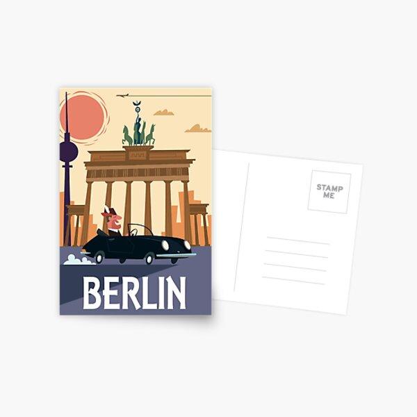 Berlin Poster Postcard