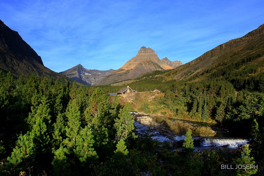 Glacier park  by BILL JOSEPH
