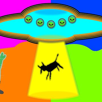 Alien Abduction by Almdrs