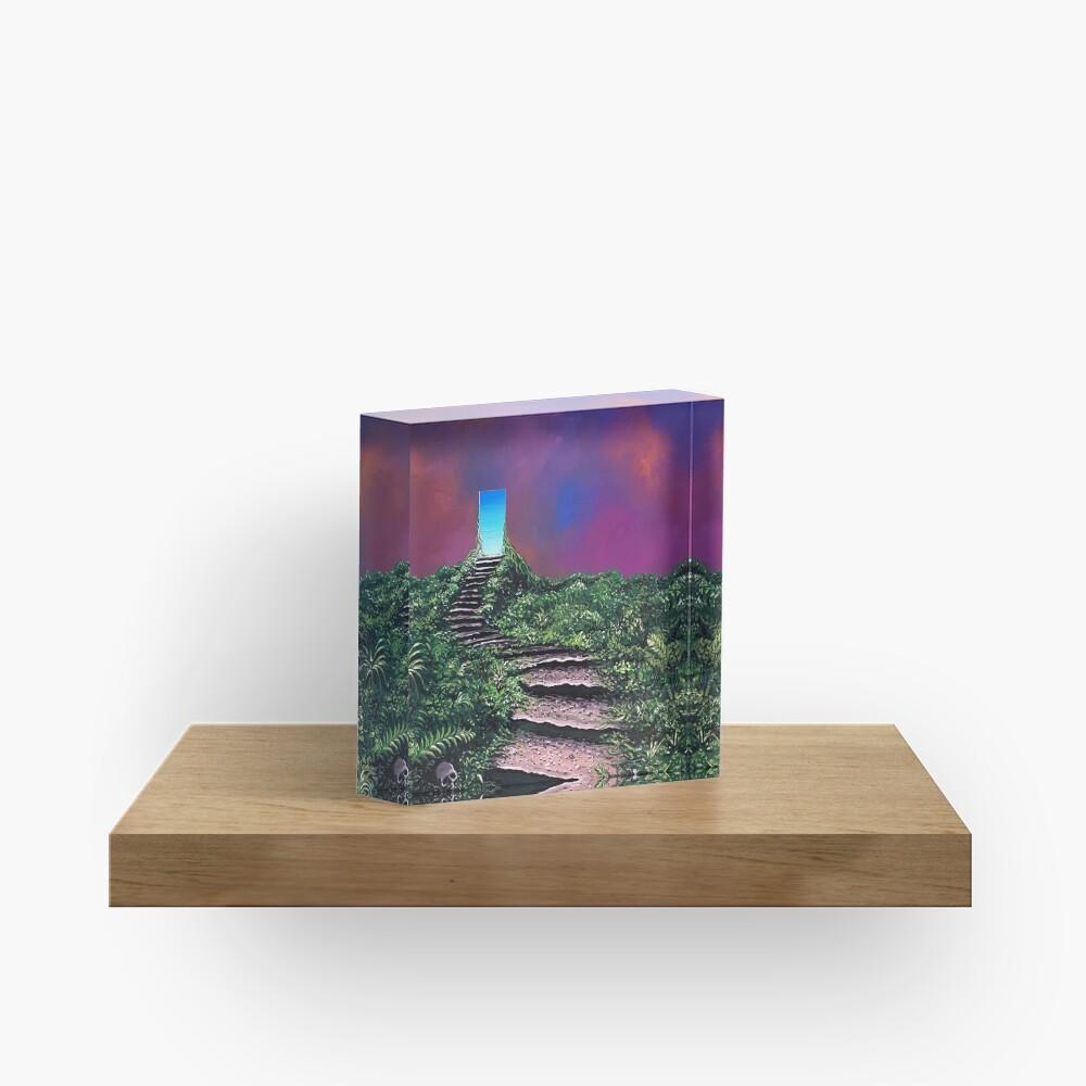 The Next Step Acrylic Block