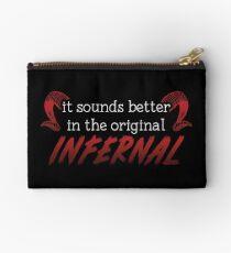 Infernal Zipper Pouch