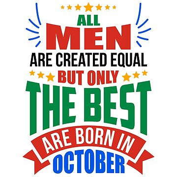 OCTOBER Birthday Special - MEN by TheArtism
