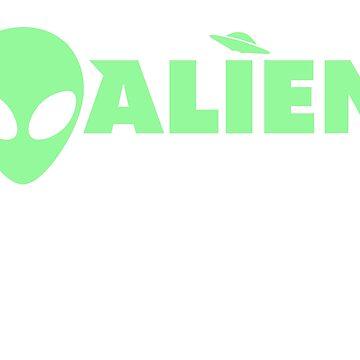 Alien Saw Me But Nobody Believes Him by peaktee