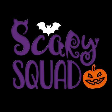 Creepy Squad Shirt Pumpkin Tea Halloween Gift idea for the Trick or treat team by MrTStyle