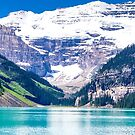 Tranquil Waters IV - Lake Louise in Banff, Alberta Canada #photography #art #landscape #lakelouise #banff #alberta #canada by Jacqueline Cooper