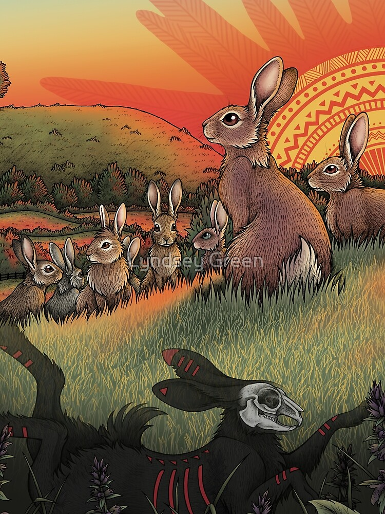 Watership Down by lyndseygreen
