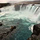 The Goðafoss waterfall by Sam Parsons