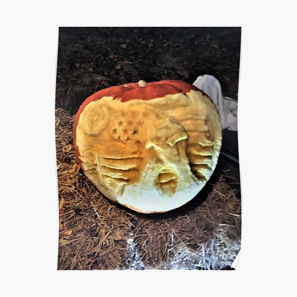 2018   Great Pumpkin Carve at the Chads Ford Historical Society's Grouds Poster