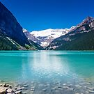 Tranquil Waters V - Lake Louise in Banff, Alberta Canada #photography #art #landscape #lakelouise #banff #alberta #canada by Jacqueline Cooper