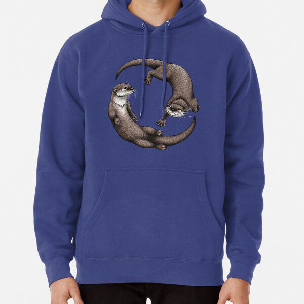 Asian Small-Clawed Otters Pullover Hoodie