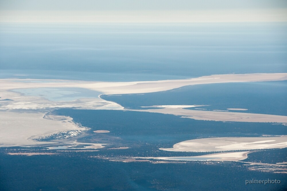 Riverbeds and Saltlakes  by palmerphoto