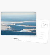 Riverbeds and Saltlakes  Postcards
