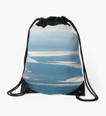 Riverbeds and Saltlakes  Drawstring Bag
