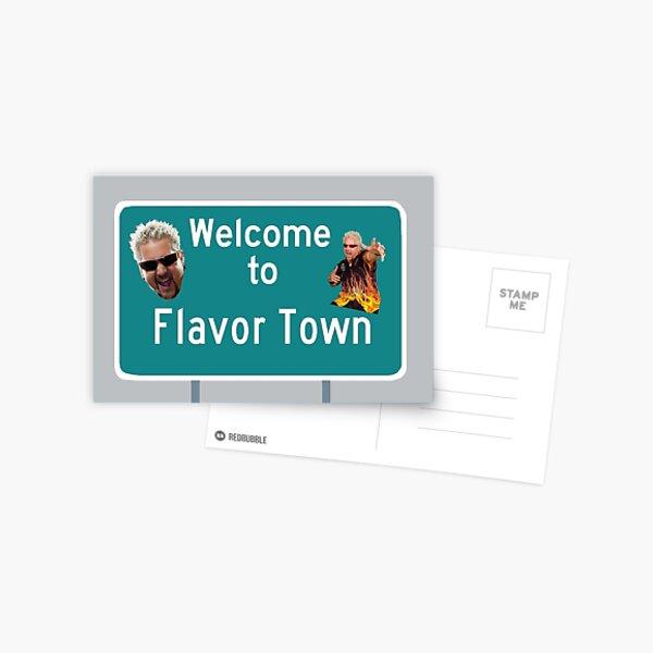 guy fieri, flavortown Postcard