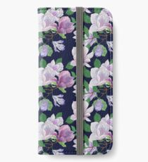Magnolia Floral Frenzy iPhone Wallet/Case/Skin