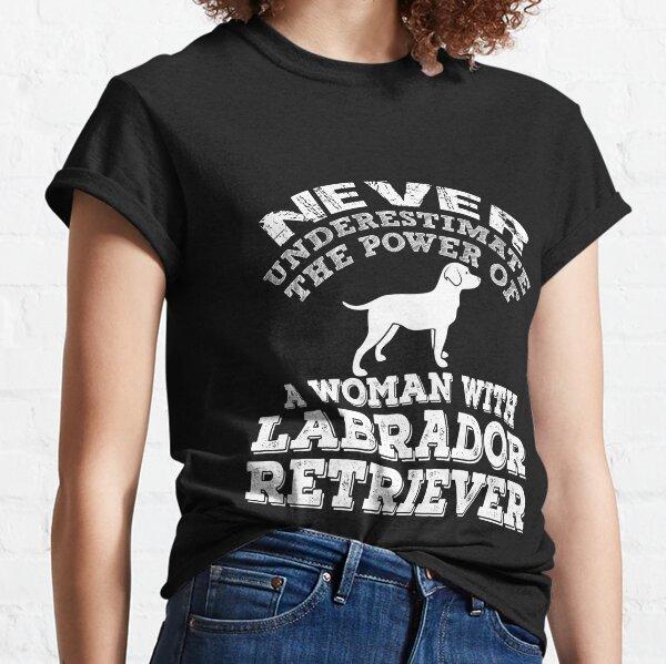 LABRADOR-Proud mum C-neuf en coton blanc Lady T-Shirt