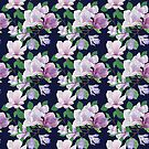 Magnolia Floral Frenzy by Andreea Dumez