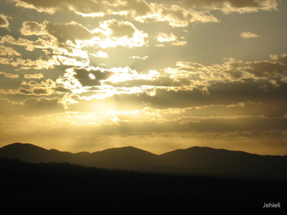 Sunrise in the Flinders Ranges by Jehieli