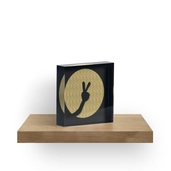 Doide logo - bamboo pattern inside -peace by Doide