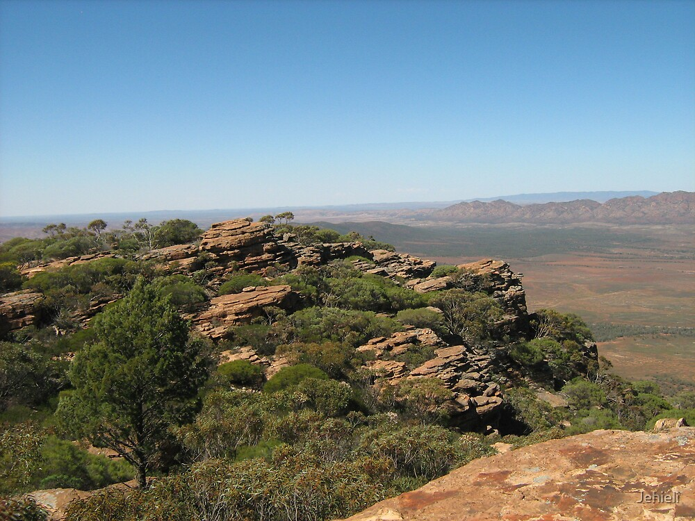 From the Top of Rawnsleys Bluff by Jehieli