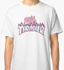 Heavy Metal Pig Classic T-Shirt