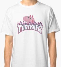 Heavy Metal Pig Classic T-Shirt