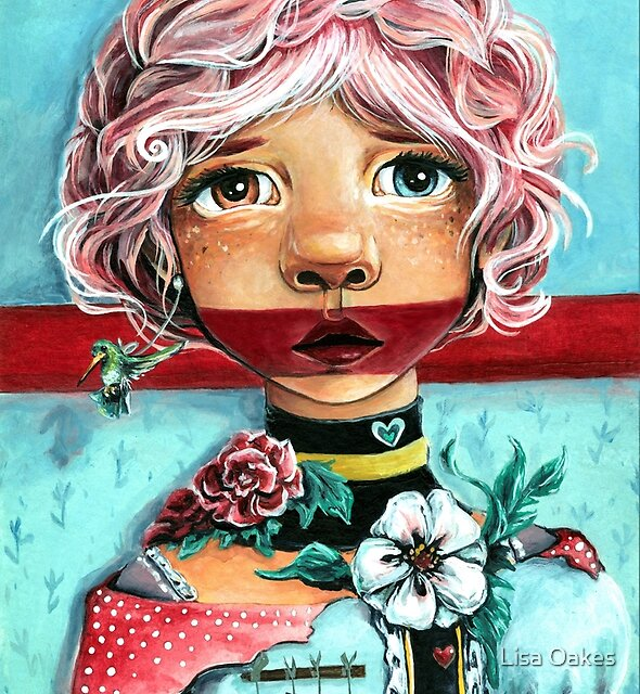 Quirky Children: Facade by Lisa Oakes