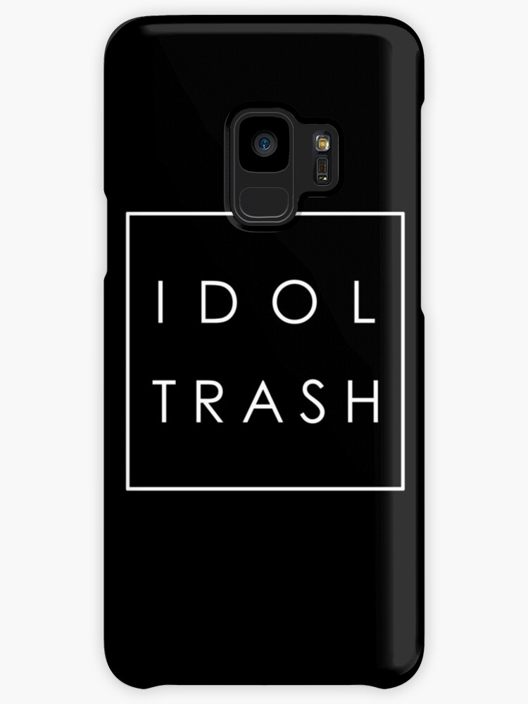 Idol Trash (On Black) by vonnon