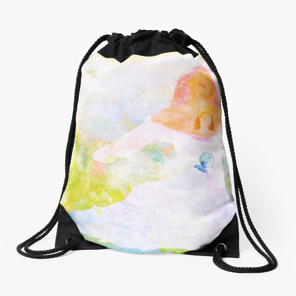 Shh, I got a Secret Drawstring Bag
