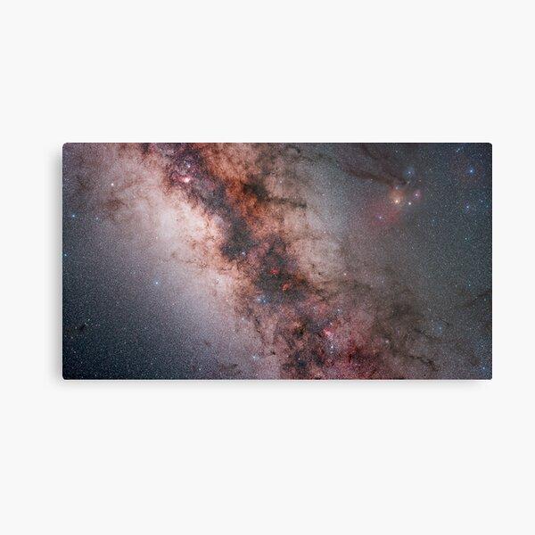 Milky Way Mosaic Metal Print