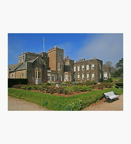 Powderham Castle Photographic Print