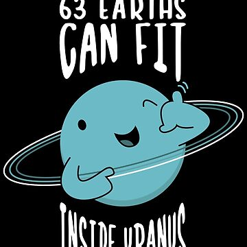 63 earths can fit inside uranus by SxedioStudio