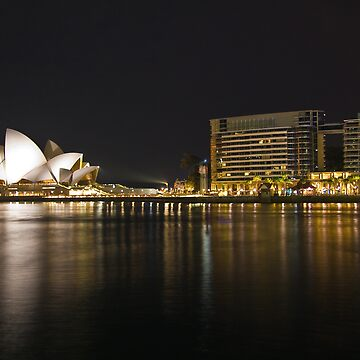 Opera house night view by calyeo