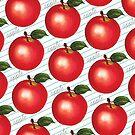 Apple Pattern - Ruled by Kelly  Gilleran