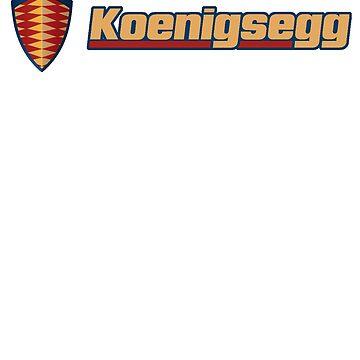 Koenigsegg logo badge by ryanturnley
