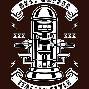 Best Coffee - Italian Style by Skullz23