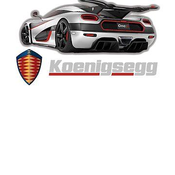 Koenigsegg One by ryanturnley