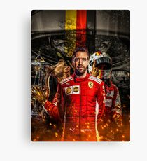 Sebastian Vettel Canvas Print